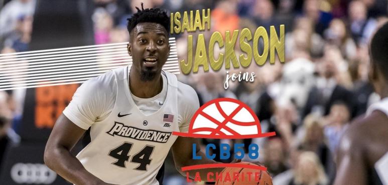 Isaiah Jackson joins La Charite
