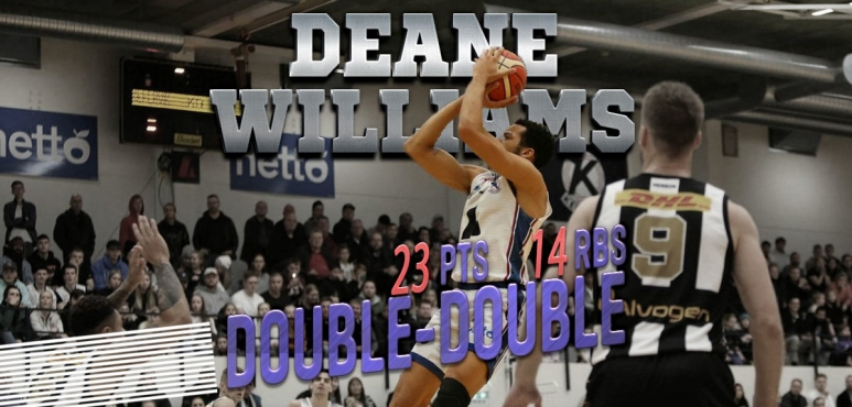 Deane Williams shines in Iceland