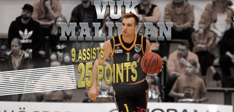 25 points in Serbia for Vuk Malidzan