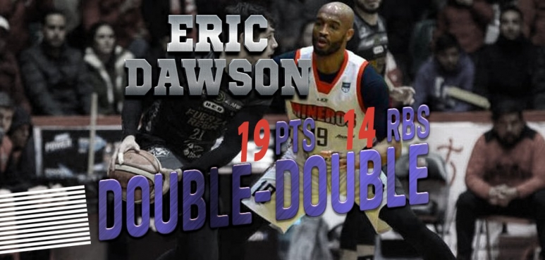 Eric Dawson's double double in Mexico