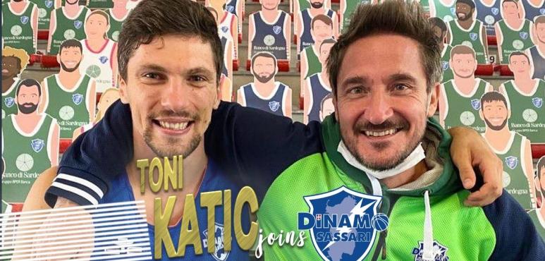 Toni Katic joins Sassari