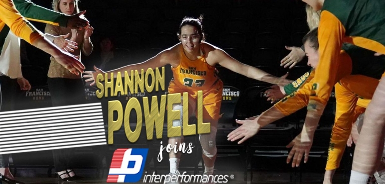 Shannon Powell signs with Interperformances