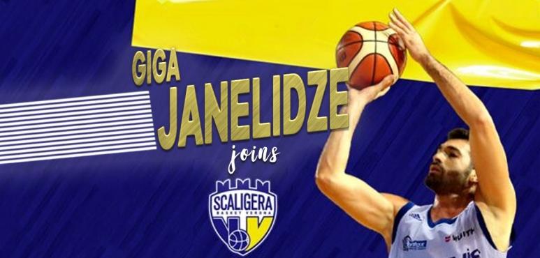 Tezenis Verona sign forward Giga Janelidze