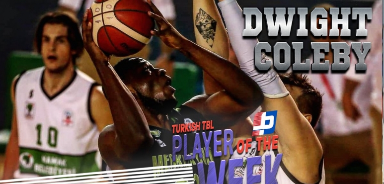 Coleby's double-double lands him TBL Player of the Week award