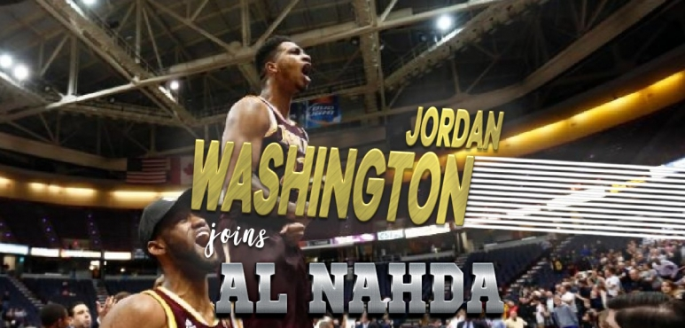Jordan Washington signs with Al Nahda