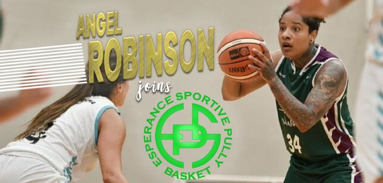 Angel Robinson joins Pully