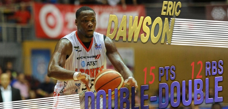 Double-double for Eric Dawson in Puerto Rico