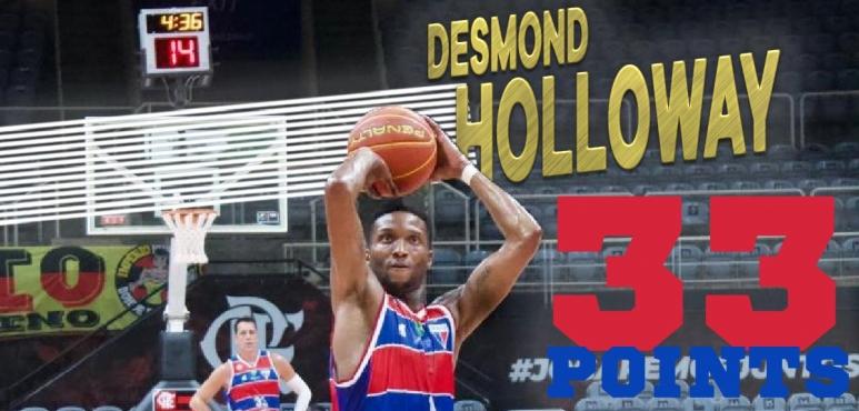 Shooting night for Desmond Holloway