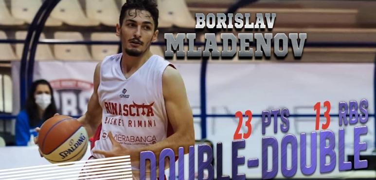 Spectacular performance by Borislav Mladenov