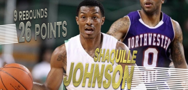 Shooting night for Shaquille Johnson