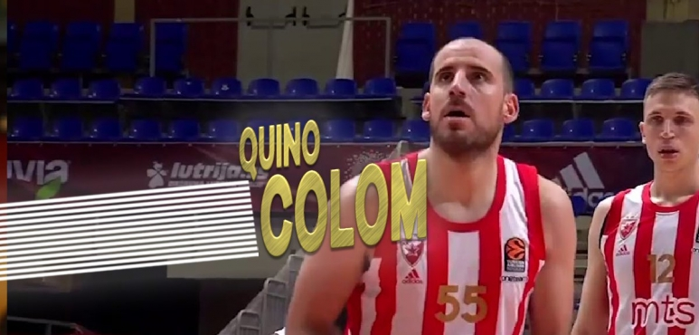Great performance by Colom in the Euroleague