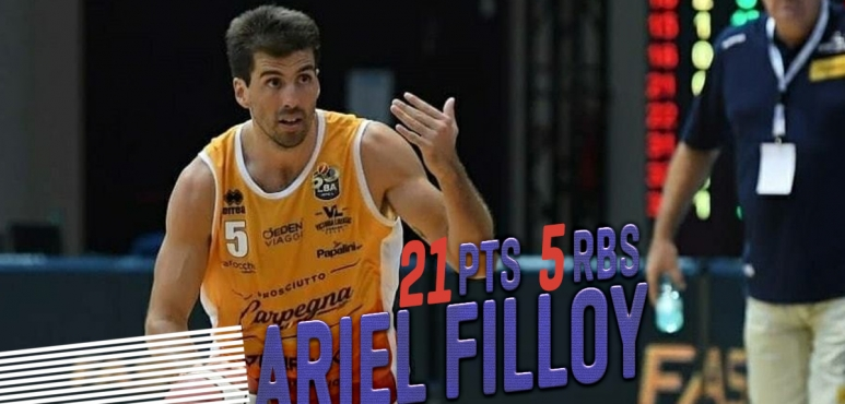 Ariel Filloy shines against Brescia