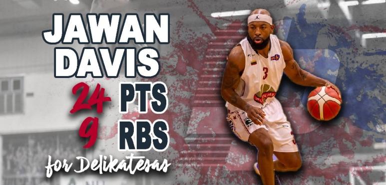 Jawan Davis leads Delikatesas to victory