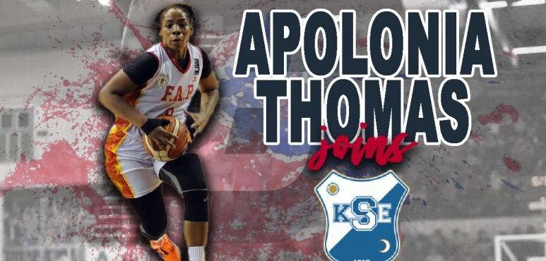 Apolonia Thomas signs ACS KSE Targu Secuiesc