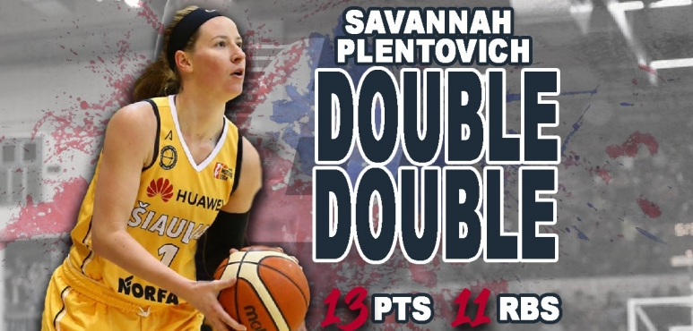 Another great game by Savannah Plentovich