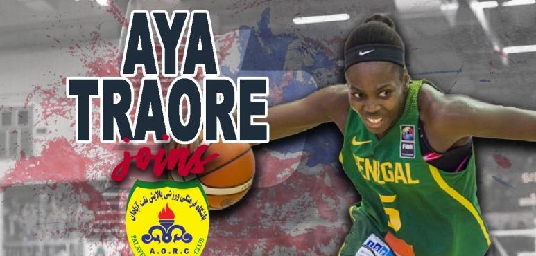 Palayesh Naft Abadan adds Aya Traore