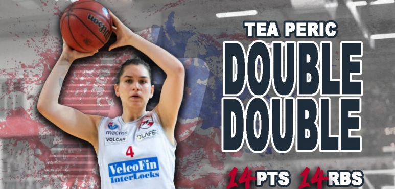 Double-Double for Tea Peric in Italy