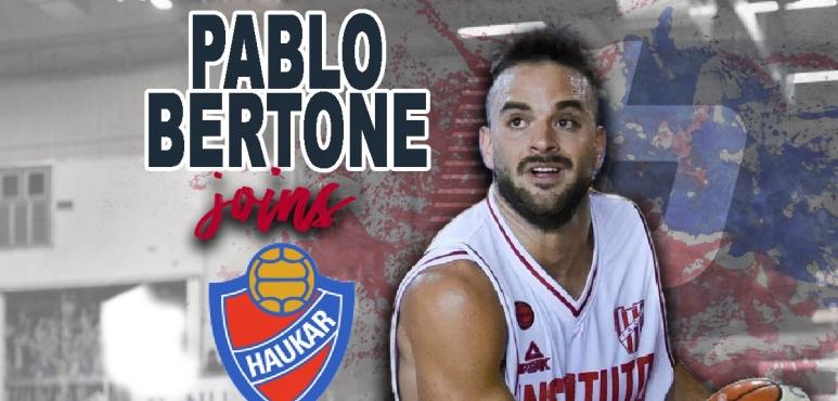 Haukar adds Pablo Bertone