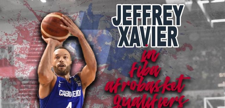 Jeffrey Xavier will compete in Afrobasket qualifiers