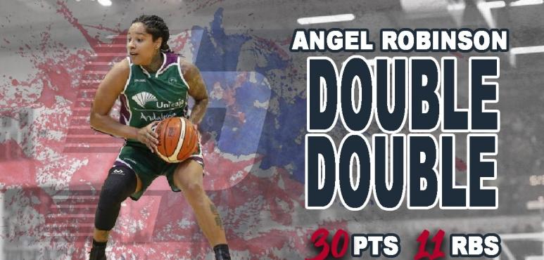 Angel Robinson's double-double in Switzerland
