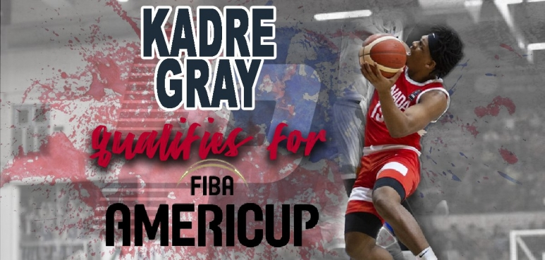 Kadre  Gray qualifies for AmeriCup 2022