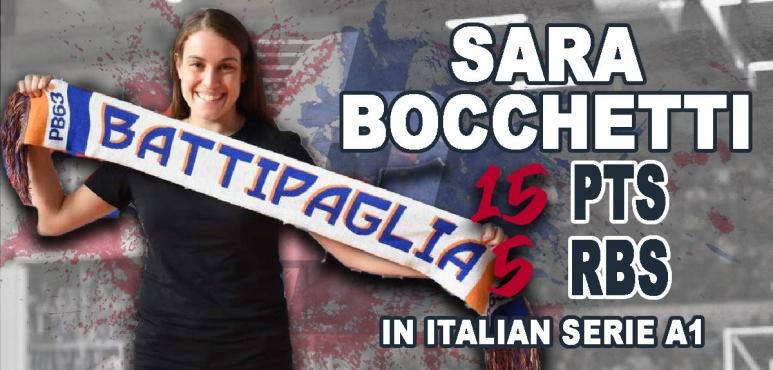 Key victory for Sara Bocchetti and Battipaglia