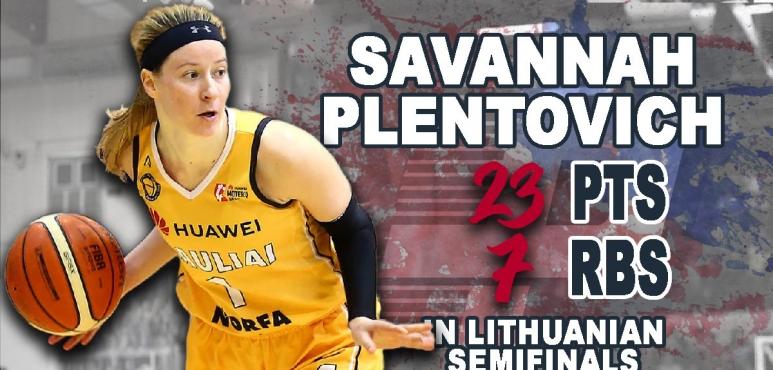 Unstoppable Savannah Plentovich