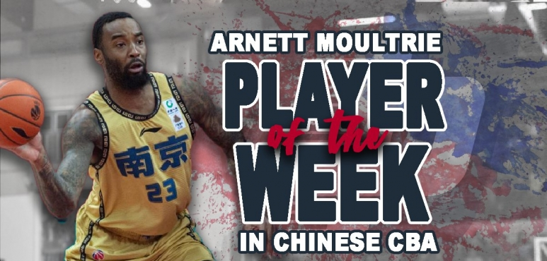 Moultrie's double-double lands him Player of the Week award