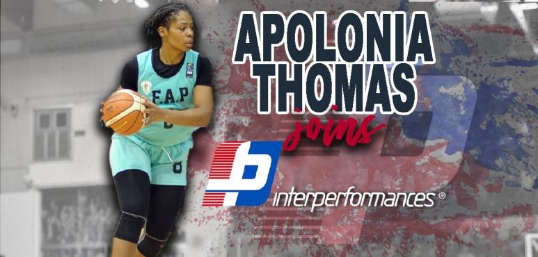 Apolonia Thomas signs with Interperformances