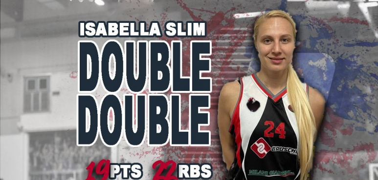 Double-Double for Isabella Slim in Italy