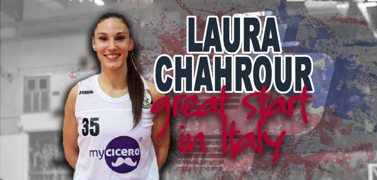 Great start for Laura Chahrour in Italy