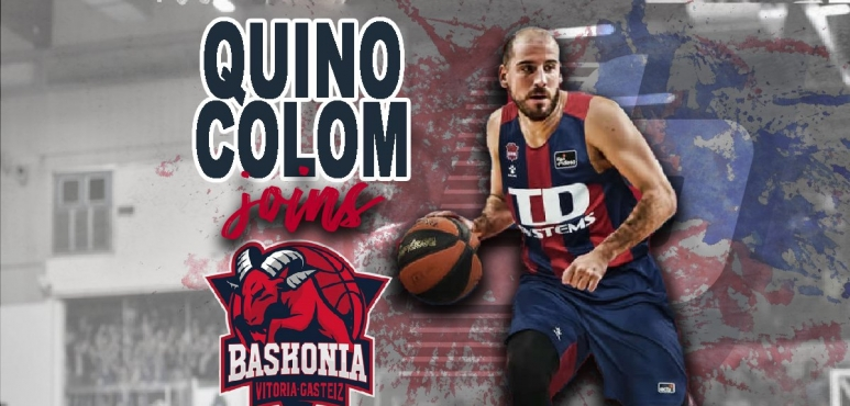 Baskonia announces Quino Colom