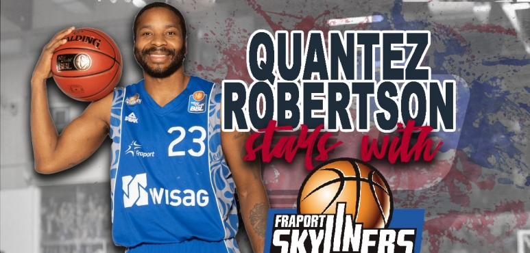 Quantez Robertson re-signs with Frankfurt Skyliners