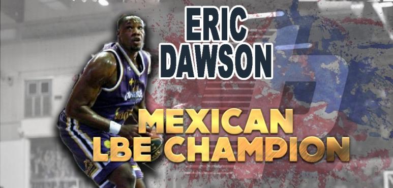 Eric Dawson celebrates LBE title