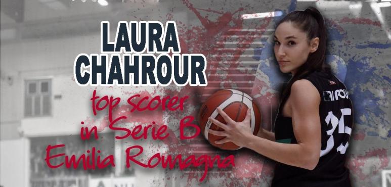 Laura Chahrour, best scorer of Italian Serie B Emilia Romagna