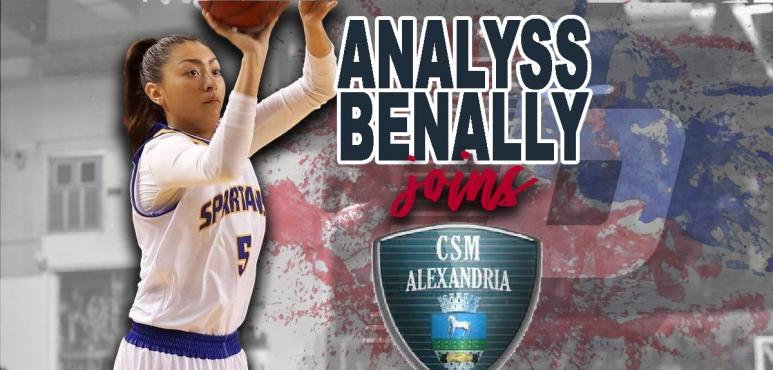 CSM Alexandria adds Analyss Benally