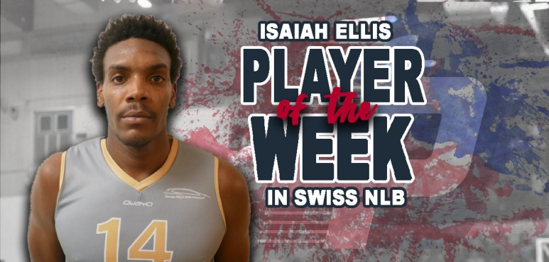 Ellis number one in Swiss NLB for round 10