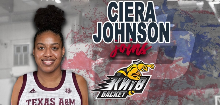 Ciera Johnson is a newcomer at Kyiv Basket