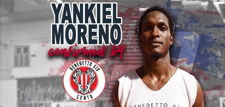 Cento keeps Moreno for another season