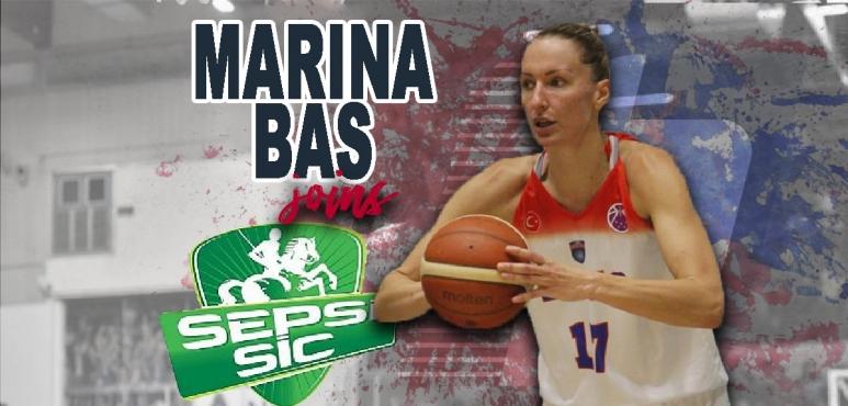 Marina Bas joins Sfantu Gheorghe