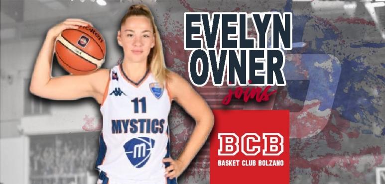 Evelyn Ovner joins Basket Club Bolzano