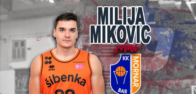 Milija Mikovic back with Mornar Bar