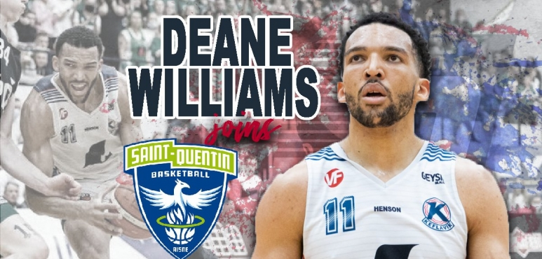 Saint-Quentin Basket-Ball inks British forward Deane Williams