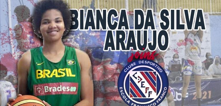 Bianca Da Silva joins Clube Desportivo Escola Francisco Franco