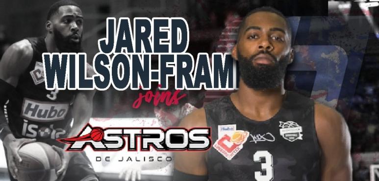 Astros de Jalisco adds Jared Wilson-Frame.