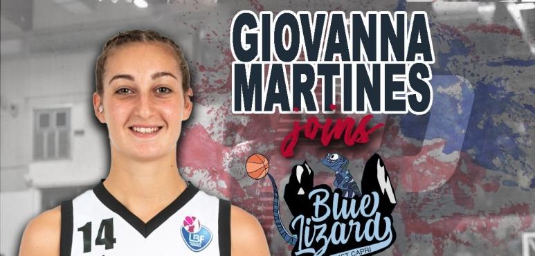 Blue Lizard Basket Capri lands Giovanna Martines