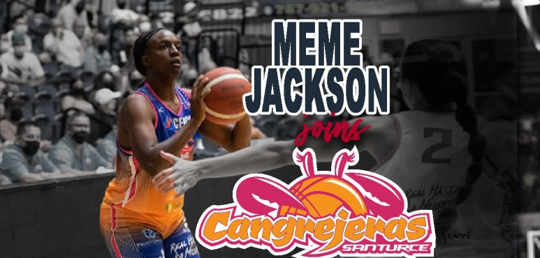 Meme Jackson joins Cangrejeras de Santurce
