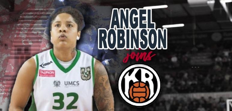 Angel Robinson joins  KR Reykjavik