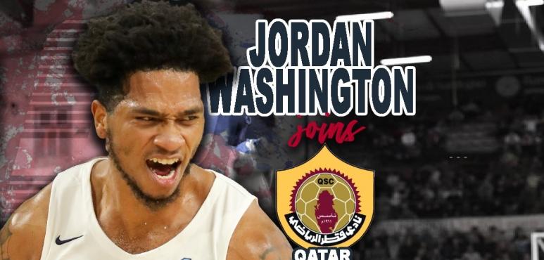 Jordan Washington has signed with Qatar Sport Club