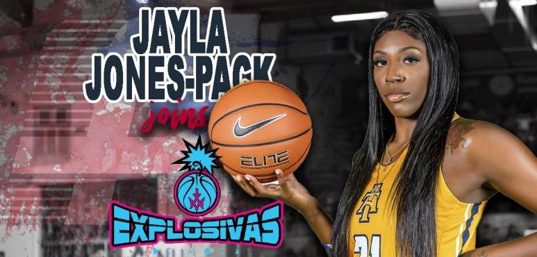 Jayla Jones-Pack signs with Explosivas de Moca in Puerto Rico